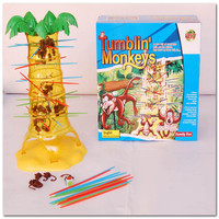 Sale 2015 New Tumblin Monkey Kids Childrens Family Fun Board Game Funny Puzzle Toy