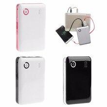 Portable Adjustable 5V 9V 12V 18650 Battery Charger Case Double USB Port Mobile Power Bank Box For Cell Phone Tablet