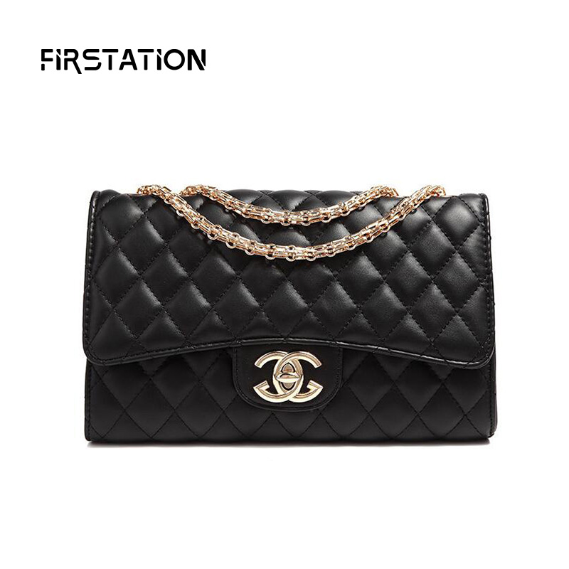 ФОТО Retro Diamond Lattice Women Shoulder Bags Designer Handbags High Quality Classic Messenger Bags Chain Bags Bolsa Feminina Wm0306