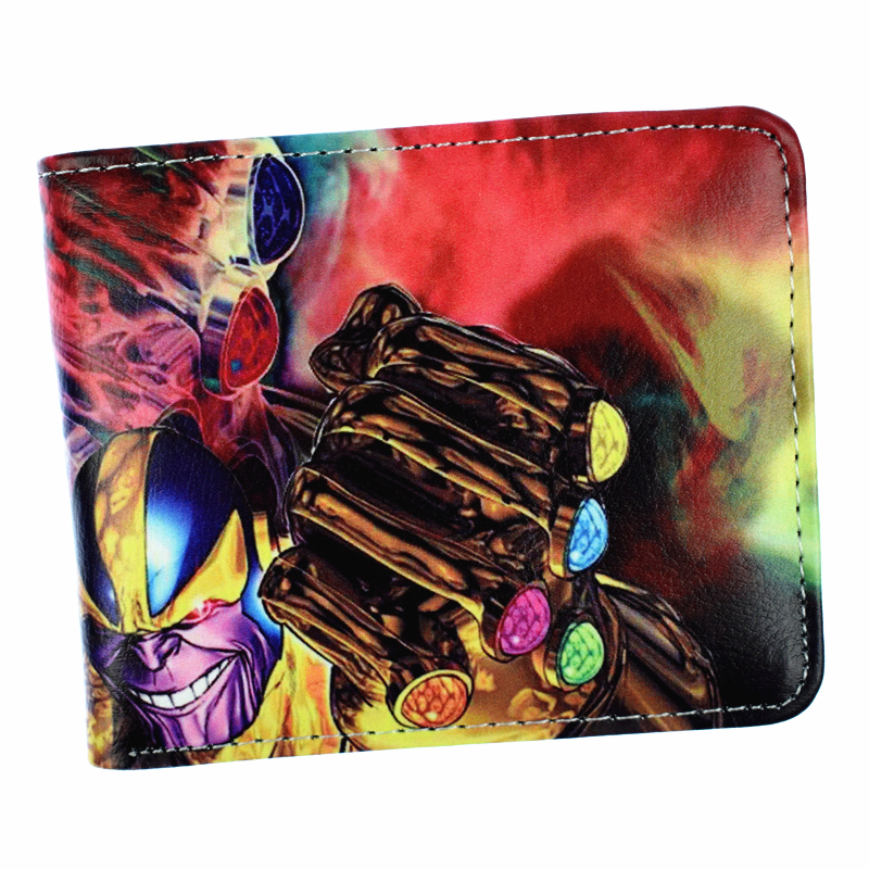 The Infinity Gauntlet Wallet Men's Short Purse Credit Card Wallets With Coin Pocket