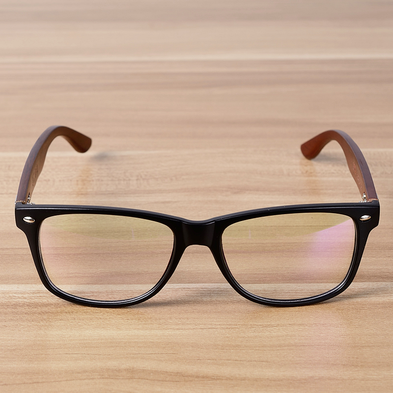 791f272b86e NOSSA Handmade Wooden Classic Glasses Frame Women Men Vintage Myopia  Eyewear Frames Bamboo Points Spectacle Eyeglasses Goggles-in Eyewear Frames  from Men s ...