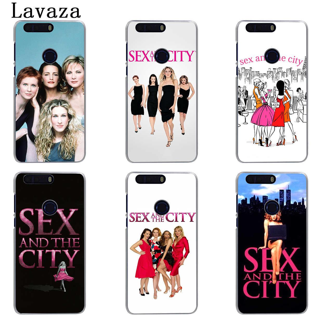 Lavaza Sex En De Stad Meisje Winkelen Hond Case Voor Huawei Y9 Y7 Prime 2018 2019 Honor 20 10 8 8A 8X9X9 Lite 7C 7X 7A Pro