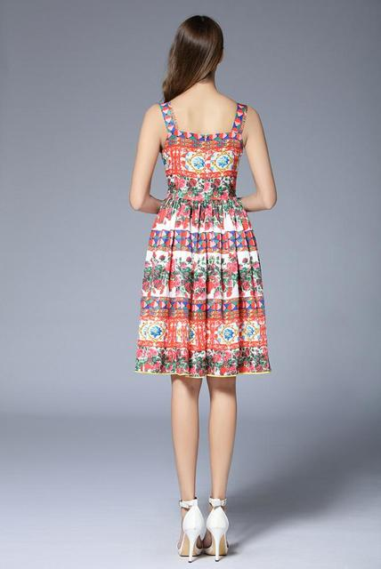Colorful Summer Dress