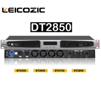 Leicozic DT2850 dsp class d amplifier 850w RMS 1400w 4ohms digital amplifier switching power supply amplifier audio professional