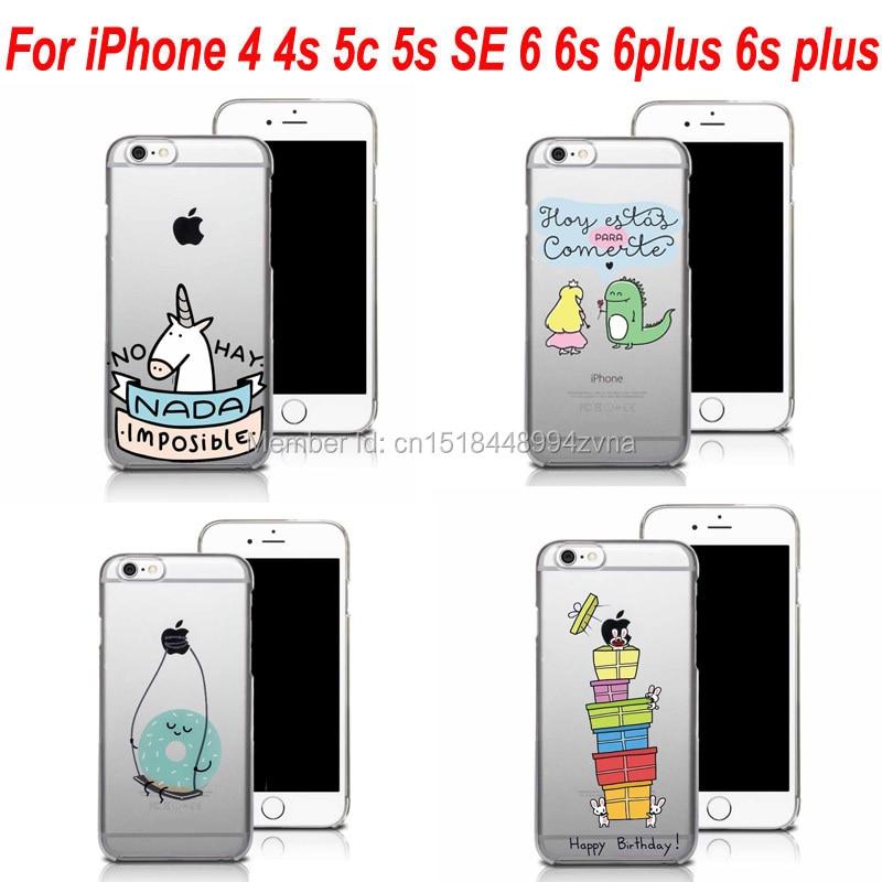 38c08bc3e97 Mr Wonderful NO HAY NADA IMPOSIBLE Transparent Cell Phone Case Cover For  iPhone 4s 5c 5 5s SE 6 6s Plus 7 7Plus Capa Coque Funda