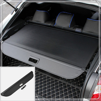 For Toyota C HR CHR 2016 2017 2018 Cargo Cover Security Shield Rear Trunk Luggage Parcel Shelf Cover Black Car Accessories