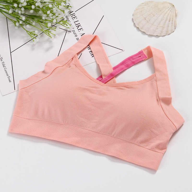 Cross Back Stitching Color Sports Bra Women Fitness Bra Breathable Yoga Bra Women Underwear Brassiere Sport Bra Top Bralette