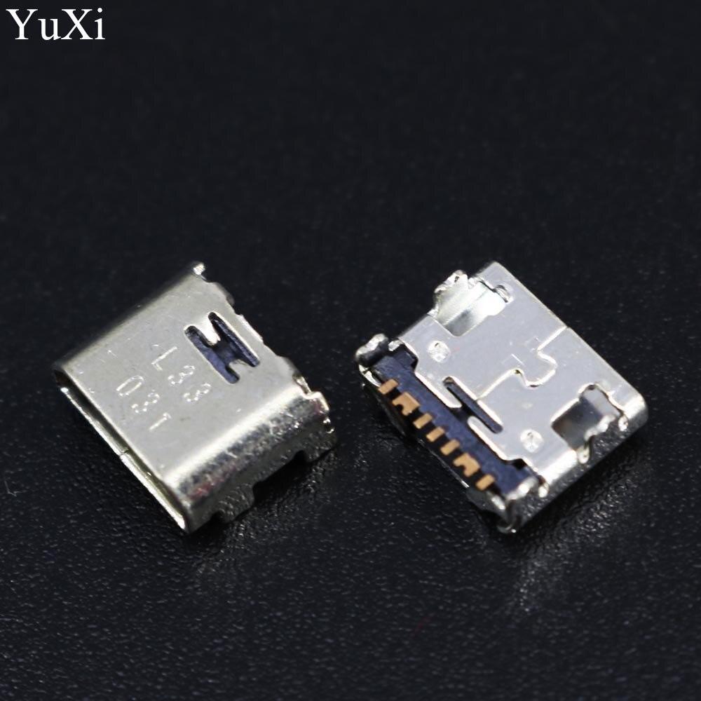 10pcs/lot Micro USB Jack Socket Connector Mini Dock Plug Charging Port For Samsung Galaxy Core Prime G360 G361F Tab E T560 T561