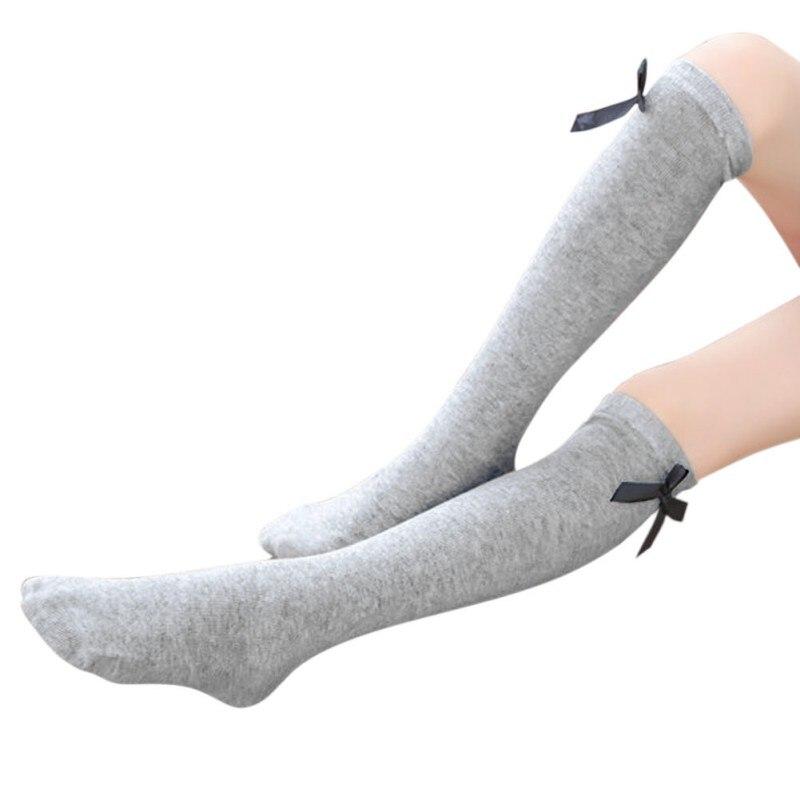 Girls Socks Knee High Butterfly Decoration Socks 2017 Baby Kids Toddlers Girls Leg Warmer For Age 3-12Y