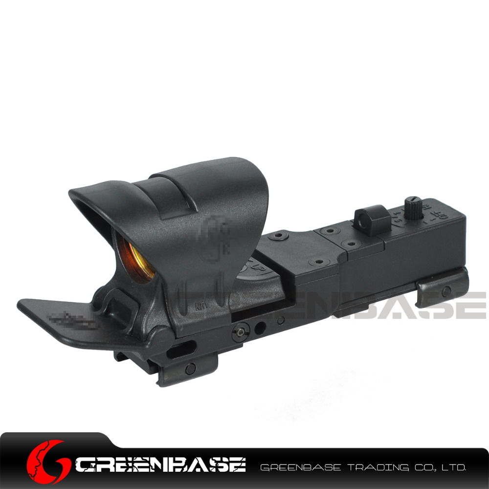 Greenbase New Tactical C-M Red Dot Scope Hunting C-MORE Red Dot Sight Railway Reflex Sight Scope Optics Scope For 20mm Rail