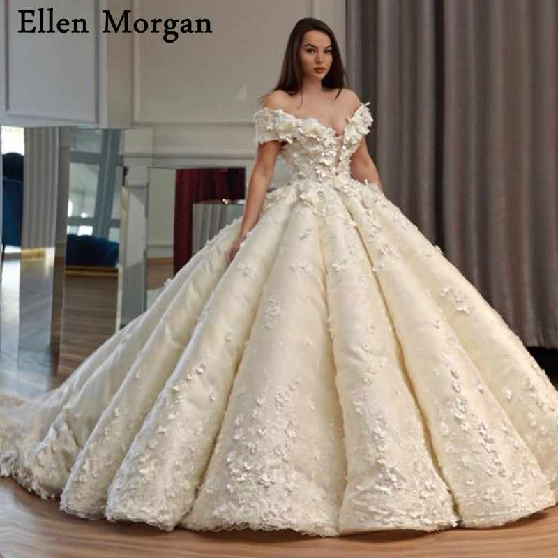396d1cbec3b1 Detail Feedback Questions about Elegant Princess Ball Gowns Wedding Dresses  with Lace Sweetheart Off Shoulder Court Train Corset Custom Made Bridal  Gowns ...