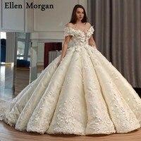 Элегантное платье принцессы бальные платья свадебные платья с кружевом Милая с плеча суд Поезд корсет индивидуальный заказ свадебные плат
