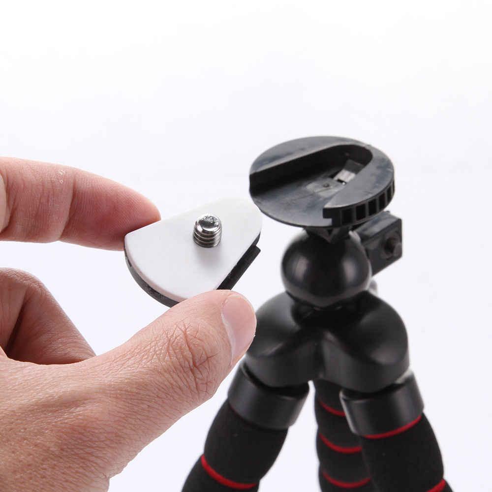 Universal Mini Octopus Fleksibel Portabel Kamera DV Tripod Stand untuk Canon Nikon Dudukan Telepon