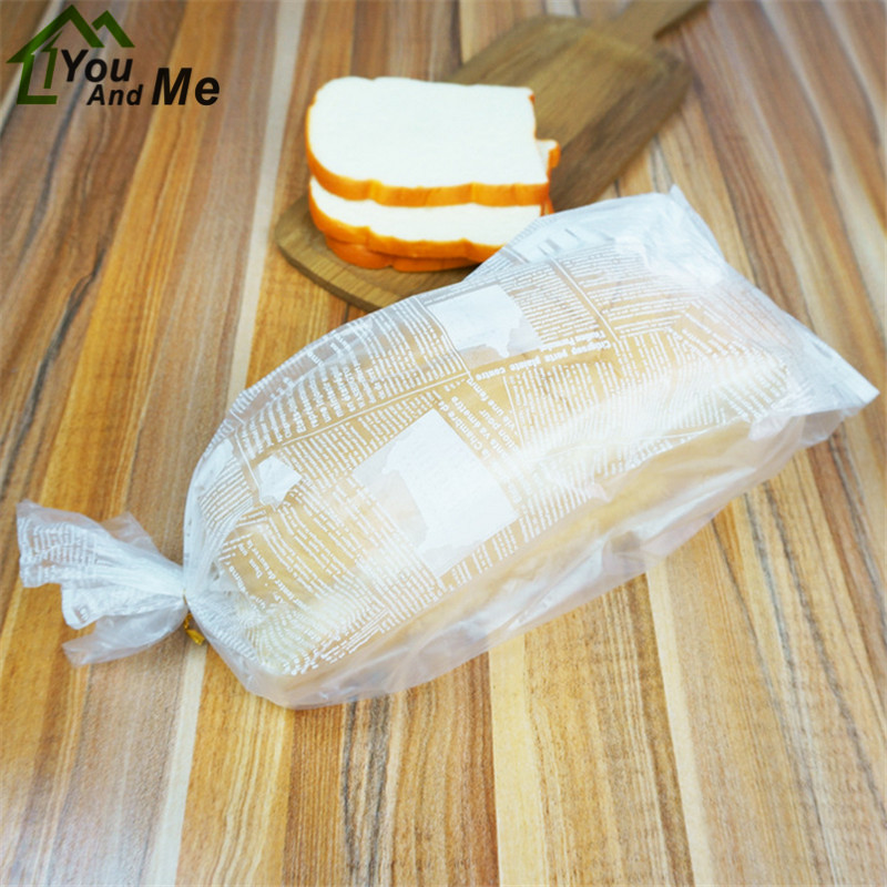 100pcs Large Size Breakfast Bags Translucent Bread Toast Puff Pastry Donuts Biscuits Storage Pouch 46x16 5x11 5cm In Gift Wring Supplies From