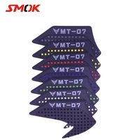SMOK Motorcycle Motocross Motor Moto Rubber Decals Tankpad Tank Pad Protector Stickers For Yamaha MT 07 MT 07 MT07 2014 2018