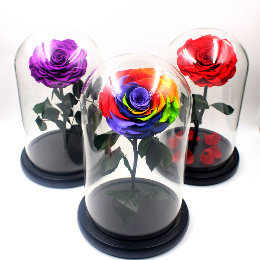 online buy wholesale glass rose from china glass rose wholesalers. Black Bedroom Furniture Sets. Home Design Ideas