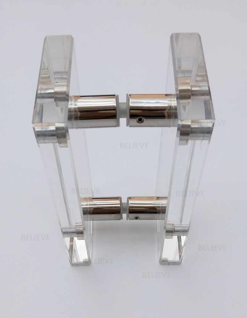 Clear Acrylic Entrance Door Handle Made Of Plexiglass For Entry ...