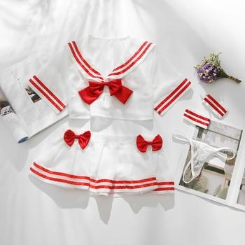 Cute Sailor Lolita Erotic Japanese Sexy Student Uniforms