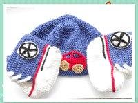 2015 Hot Sale Crochet Baby Girl Hat and Booties Set