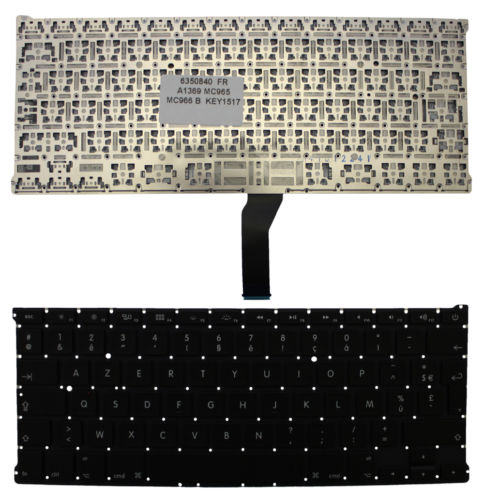 New Laptop keyboard for Apple MacBook Pro A1297 FR/French layout original new laptop keyboard for apple macbook a1260 keyboard free shipping