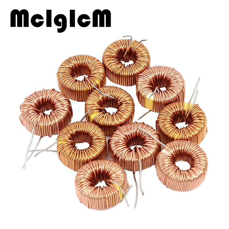 5pcs Toroid Inductor 3A Winding Magnetic Inductance 22uH 33uH 47uH 100uH 220uH 330uH 470uH Inductor
