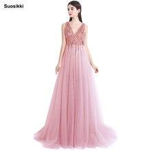 Женское блестящее вечернее платье suosikki элегантное Прозрачное