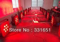 5 pçs/lote 2017 Hot 5/9 Canais DMX LED Plana Par Can Luz New 7x15 W RGBAW 5IN1 Coloridas