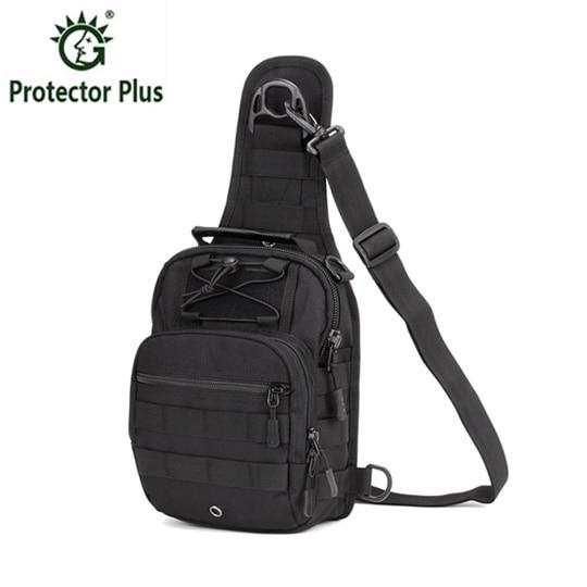 ФОТО Tactics Chest Bag Hike Camp Equipment Outdoors Nylon Wading Chest Pack Cross body Sling Single Messenger Shoulder Bag Men Unisex
