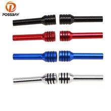 Posbay 2x алюминиевый сплав, Автомобильный Дверной замок, ручка, булавки, серебро/синий/красный/черный, Автомобильный Дверной замок, кнопка, винт, ручка, универсальная