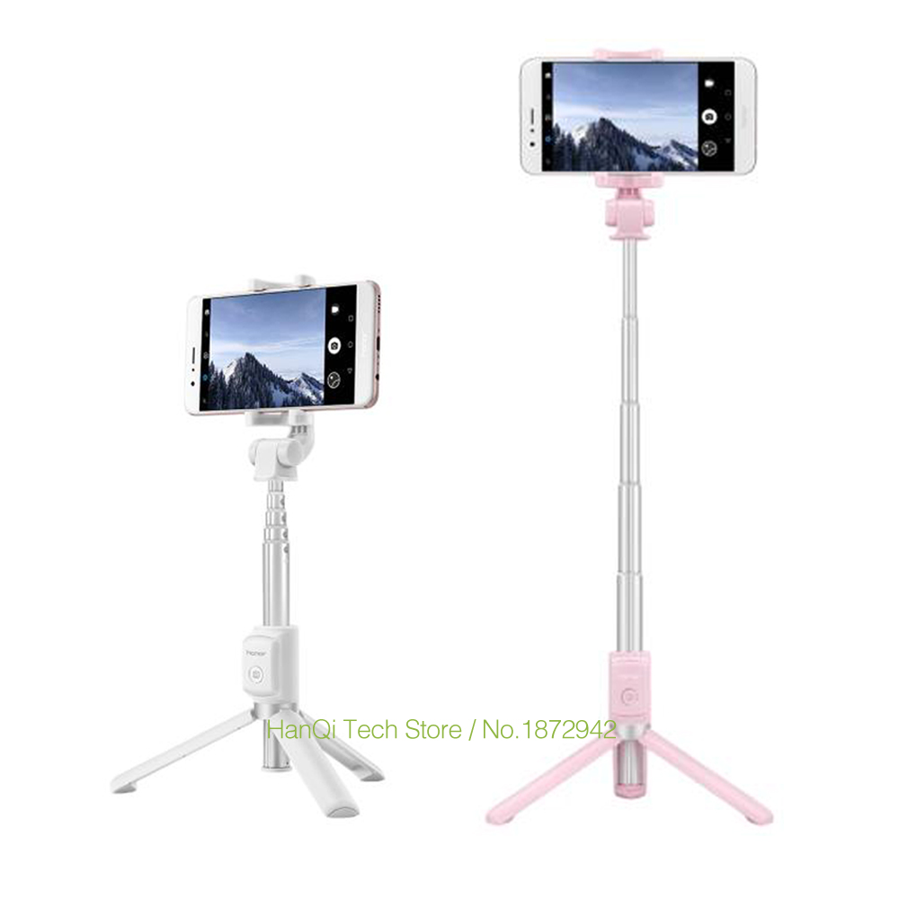 Original Huawei Honor bluetooth Selfie Stick Tripod Wireless Monopod Extendable Handheld Tripod Holder for IOS Android Phones