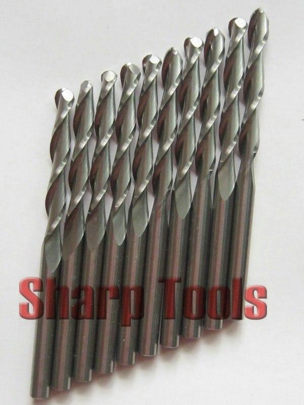 10 шт. 4*28 мм два флейта карбидные фрезы, инструменты для гравировки с ЧПУ, фрезерные свёрла, ЧПУ Инструменты, 3D mdf Карвинг