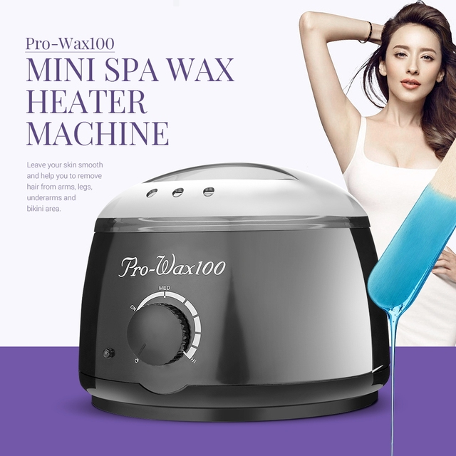 Wax Heater Epilator 500ml Hair Removal Machine SPA Hands Feet Depilatory Wax Machine Warmer Heater Epilator Painless Paraffin