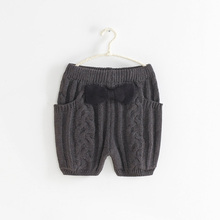 NEW ARRIVAL GIRL COTTON SWEATER SHORTS WINTER SHORTS children SHORTS girl FASHION CLOTHING WARM SHORTS 1605