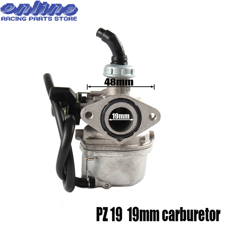Hand Choke PZ19 19mm Carb <font><b>Carburetor</b></font> For KEIHI <font><b>70cc</b></font> 90cc 110cc Motorcycle Pit Dirt bike ATV Quad Motocross Enduro Off road image