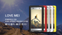 Original Love Mei Powerful Case For Sony Xperia T2 Ultra Xm50h Waterproof Shockproof Aluminum Case Cover