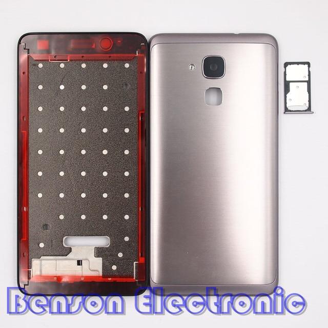 BaanSam Nueva Tarjeta SIM Holder LCD Marco Frontal de La Batería de ...