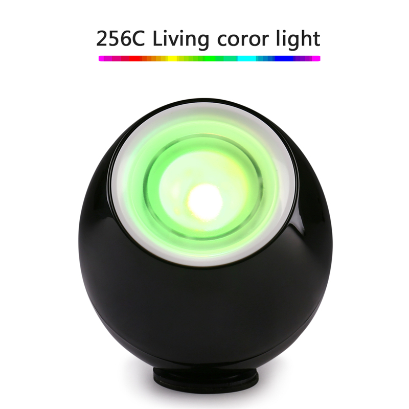 Romantic Professional 256 Colors Living Color Light LED Lamp Mood Light Touchscreen Scroll Bar USB Gift For Baby