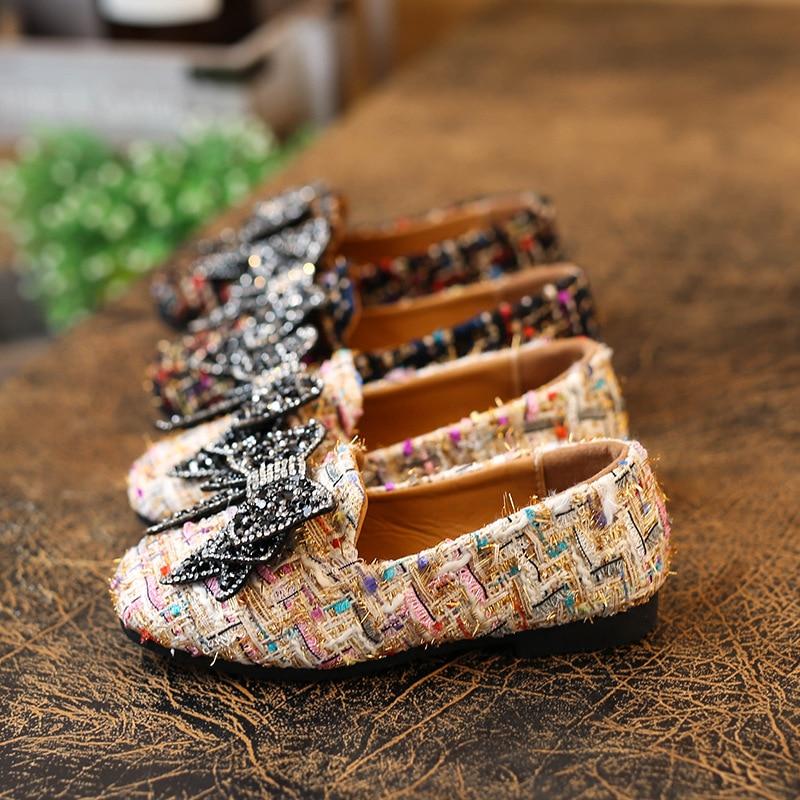 Lente 2018 Nieuwe kinder schoenen Meisjes Schoenen Mode Schattig Boog - Kinderschoenen - Foto 4