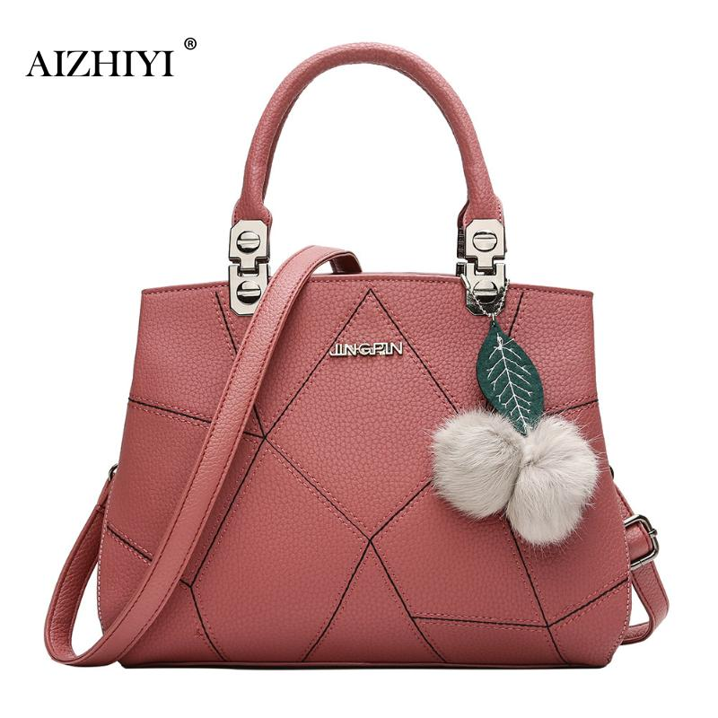 Women PU Leather Handbag Tote Retro Women Shoulder Bag Messenger Crossbody Bags Female Shoulder Bag Adjustable Strap