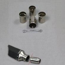 45 48 мм универсальный глушитель из нержавеющей стали модифицированная