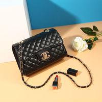 Fashion Diamond Lattice Shoulder Messenger Bags Channels Bags Women Purses and Handbags Channel Bags Crossbody Bags for Women