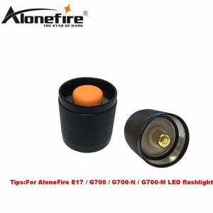Image 5 - AloneFire E17 switch accessories G700 led flashlight switch/red green lens/remote pressure switch/remote pressure pad switch
