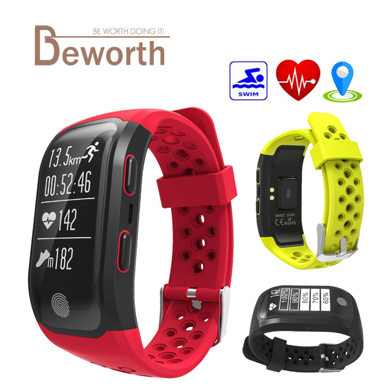 S908 GPS Smart Band Heart Rate Sleep Monitor Wristband Fitness Pedometer IP68 Waterproof Bracelet Watch Sports