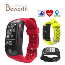 S908 GPS Smart Band сердечного ритма сна Мониторы браслет Фитнес шагомер IP68 Водонепроницаемый часы браслет спортивные трекер SmartBand
