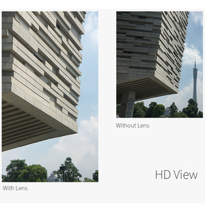 Image 5 - Ulanzi lente de teleobjetivo 4K HD para teléfono móvil, lente de cámara con Clip para iPhone 8 7 X Plus Samsung S8 S9