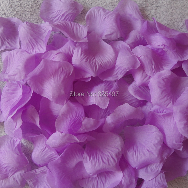 Fashionable Purple Wedding Table Decorations Rose Petals Birthday Party Decoration In DIY From Home Garden On