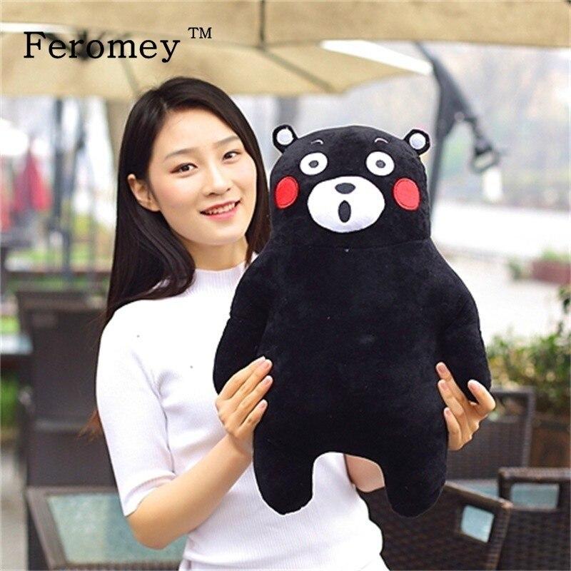 Kawaii Japão Mascote Kumamon Urso de Pelúcia Boneca Brinquedos Das Crianças Das Crianças do Presente de Aniversário Bonito Stuffed Animal Boneca Kumamon 10 cm/ 30 cm/50 cm