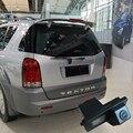 Sensor CCD HD Car Rear View Reverso Back Up Estacionamento Kit Câmera para Ssangyong Rexton/Ssang yong Kyron Livre grátis
