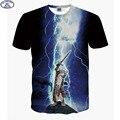 Mr.1991 marca 3D Animal t-shirt para meninos e meninas bonito engraçado Super poderes cat animais impressos grandes crianças 12-18 anos camiseta A3