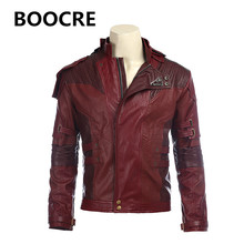Original edition Mens Guardians of the Galaxy Vol. 2 Star-Lord Jacket Peter Jason Quill Jacket Tops Cosplay Costumes